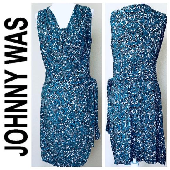 1efa021b671d Johnny Was Dresses | Jw Print Shirred Waist Midi Dress | Poshmark
